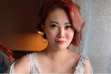 台中新秘白白-短髮新娘