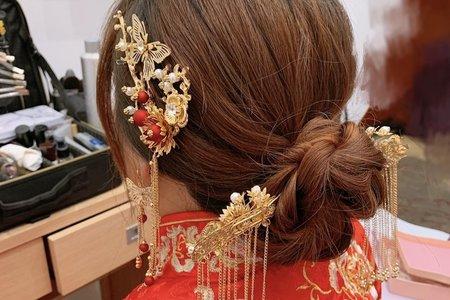 台中新秘白白+冠英婚禮/結婚造型/新娘秘書/新秘推薦/戶外婚禮/婚紗造型
