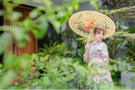 中國風婚紗/秀禾服造型/中式婚紗