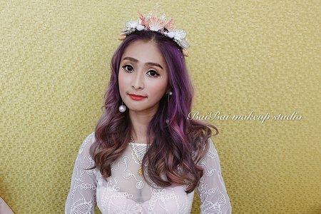 美人魚公主-迪士尼主題婚禮造型