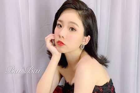 短髮新娘造型x油頭時尚風x歐風復古+結婚造型/新娘秘書/新秘推薦/