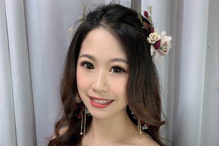 +婚紗造型x森林公主風+