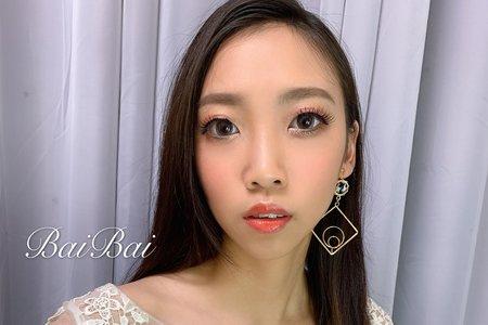 韓系風格x俐落油頭x歐美高馬尾x婚紗造型