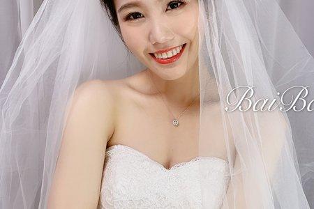 戶外婚禮/小歐風婚紗造型/結婚造型/新娘秘書/新秘推薦/
