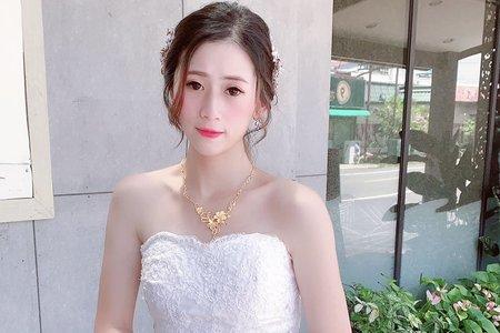 韓系氣質低馬尾#宇庭/文定造型/新娘造型