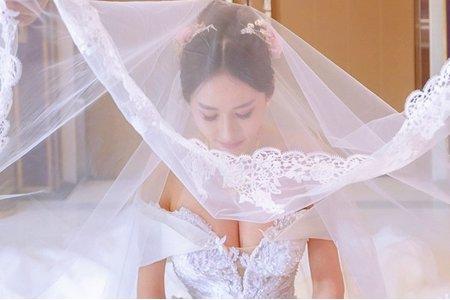 中式新娘造型X邊邊/浪漫新娘造型/日系新娘造型/甜美風格新娘造型
