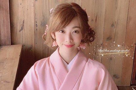 和服造型-戶外婚禮/結婚造型/新娘秘書/新秘推薦/