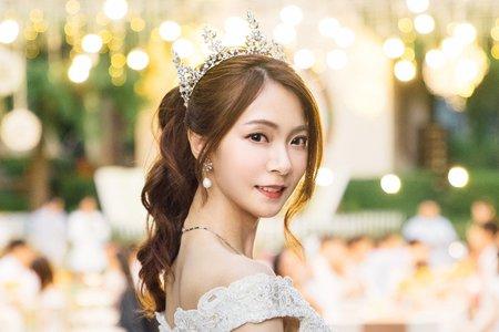 迪士尼公主/心之芳庭/婚禮派對/新娘造型