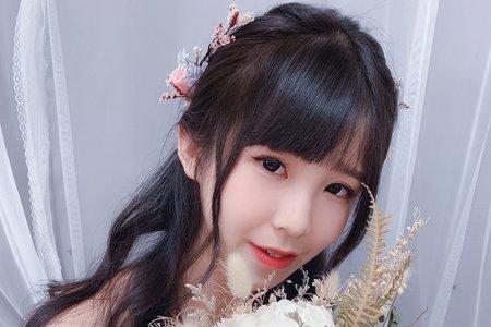 自然清新甜美新娘造型/韓系甜美新娘娘造型