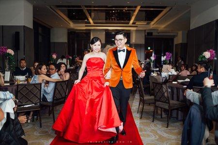 Jeff & Rae Wedding Party - 萬豪酒店