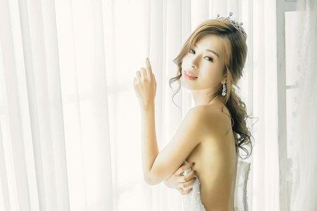 浪漫公主白紗造型
