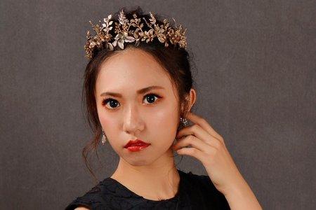 桃園新秘sasa昱庭-氣勢女王