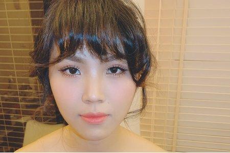 日系甜美qq頭造型