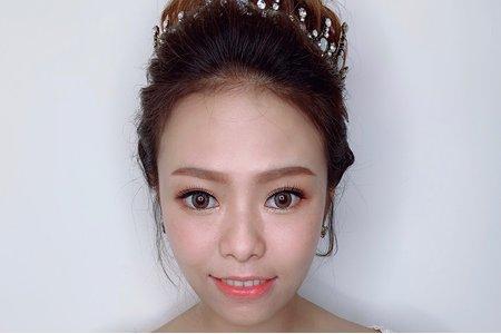 韓系女王妝容