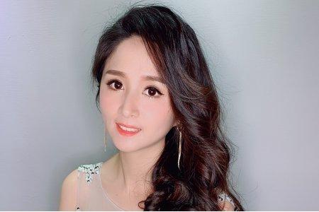 韓系名媛氣質側放髮