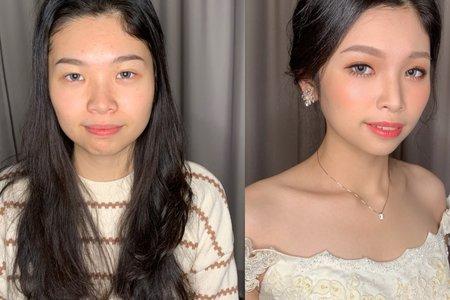 韓系氣質妝容整體造型