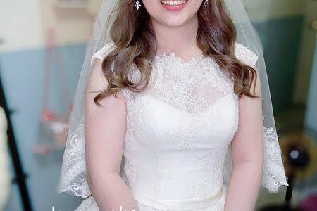 白紗公主頭造型