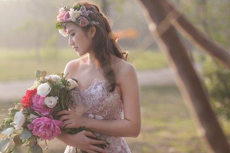 Dora Lin/『自助婚紗』韓風