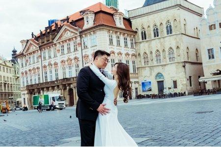 Dora Lin /海外自助婚紗(歐洲捷克布拉格)