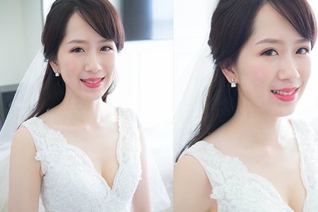 Dora Lin /Makeup/.台中萊特薇庭
