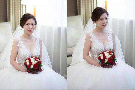 Dora Lin /Makeup 龍鳳掛 新竹新娘秘書