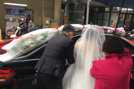 高雄新人優評-幸福結婚禮車出租