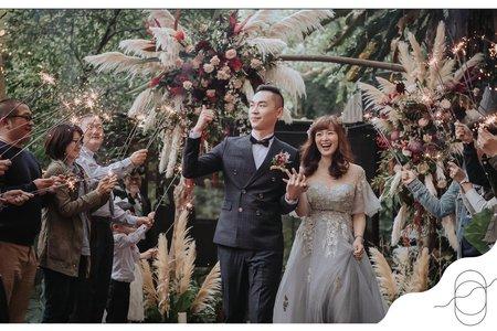 婚禮視覺規劃┃肯定是你:L & J Wedding┃陽明山.少少原始感覺研究室