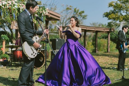 老闆跟闆娘的婚禮