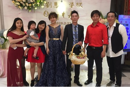 109/02/22南紡夢時代-錦霞樓午宴 劉恩&姿欣