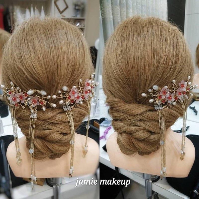 古裝盤髮造型