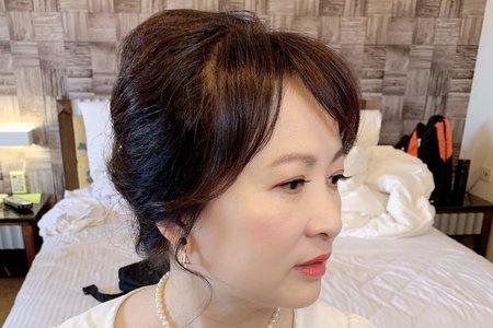 婆婆媽媽妝髮分享