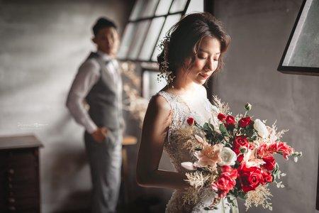 浪漫甜美棚拍婚紗(台北)