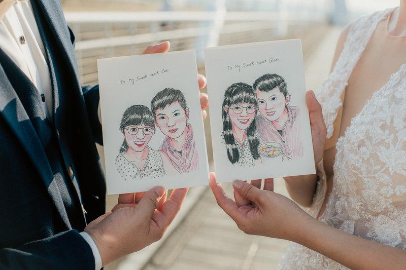 禾子攝影室 婚紗攝影包套作品