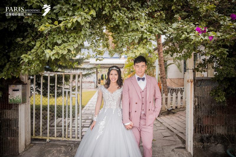 花蓮巴黎婚紗攝影
