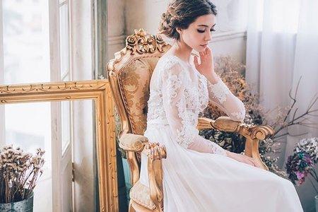歐美時尚輕婚紗