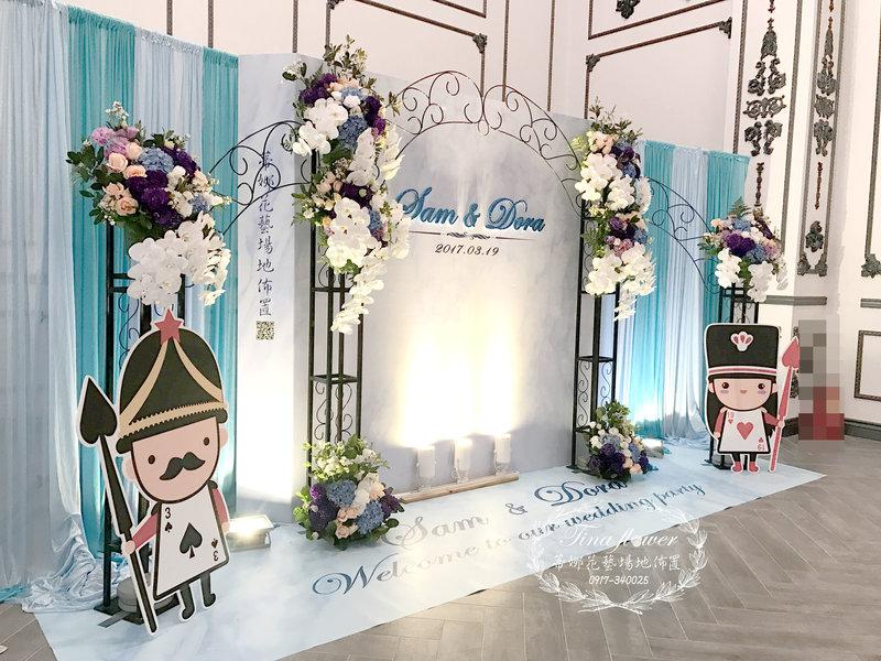 客製化婚禮佈置作品
