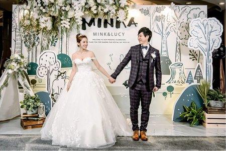 新竹國賓婚宴 | 婚禮攝影 | MINK+LUCY