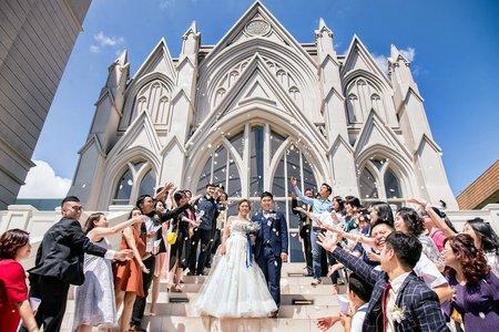 翡麗詩莊園婚攝 | 教堂婚禮 | Eric+Trista | 台北婚攝
