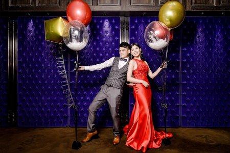君品訂結 | 婚宴 | 婚禮紀錄 | JAYDEN+ILEANA | 亮廳