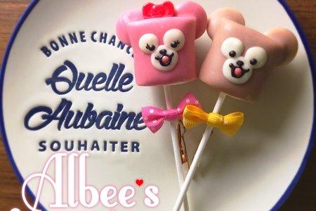 3D大耳朵 達菲 雪莉玫 巧克力棉花糖