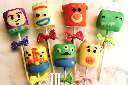 玩具總動員 巧克力棉花糖