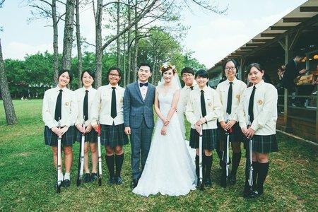 主題式婚禮-儀隊是新人相識的啟點