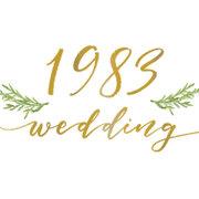 1983 Wedding Studio!