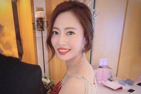 新娘紅色禮服造型/訂婚造型by可可