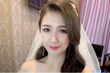 新娘白紗造型by可可