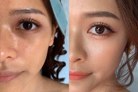 |VIOLETA可可|眼型調整x妝前妝後
