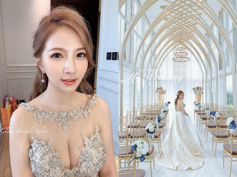 |VIOLETA可可|宴會新娘秘書作品