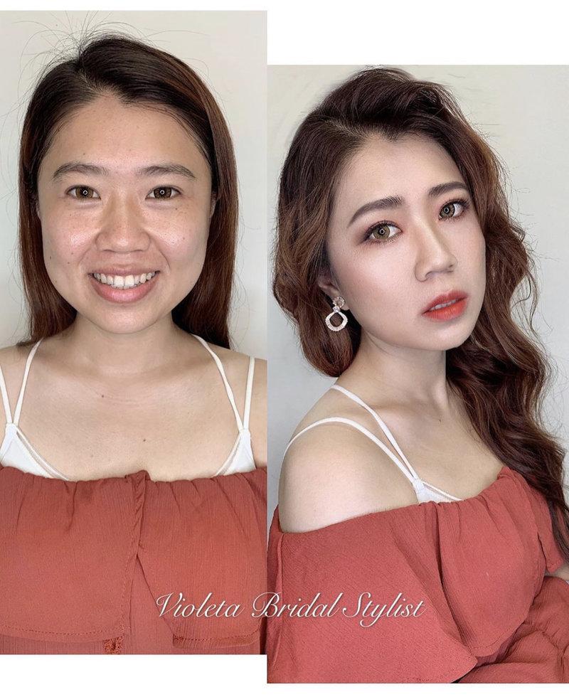 |VIOLETA可可|個人宴會妝髮造型作品