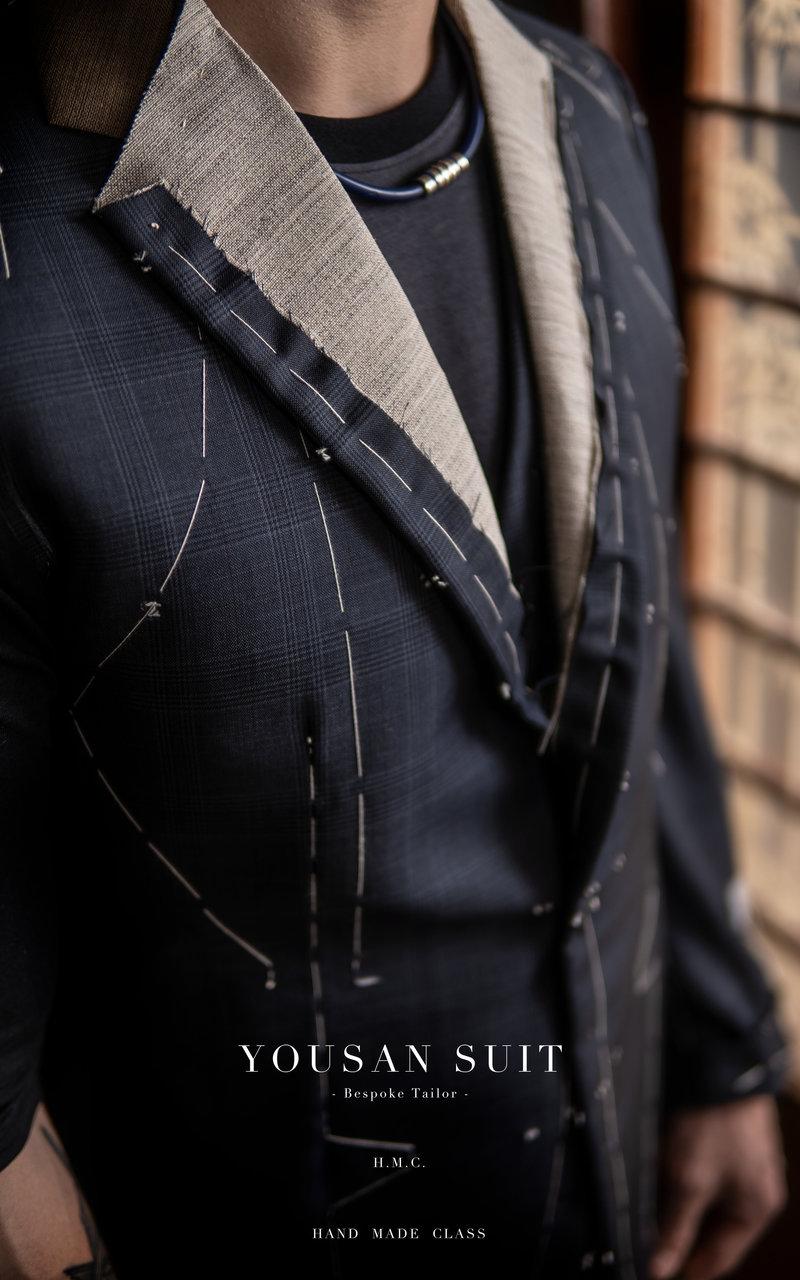 「 純手工 」量身訂製西服 一套作品