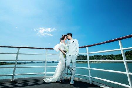 高級河輪婚紗攝影